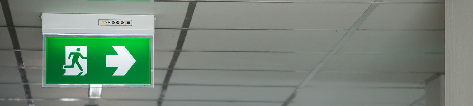 Emergency Light Banner