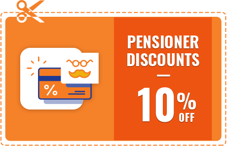 Offer Pensioner Discount